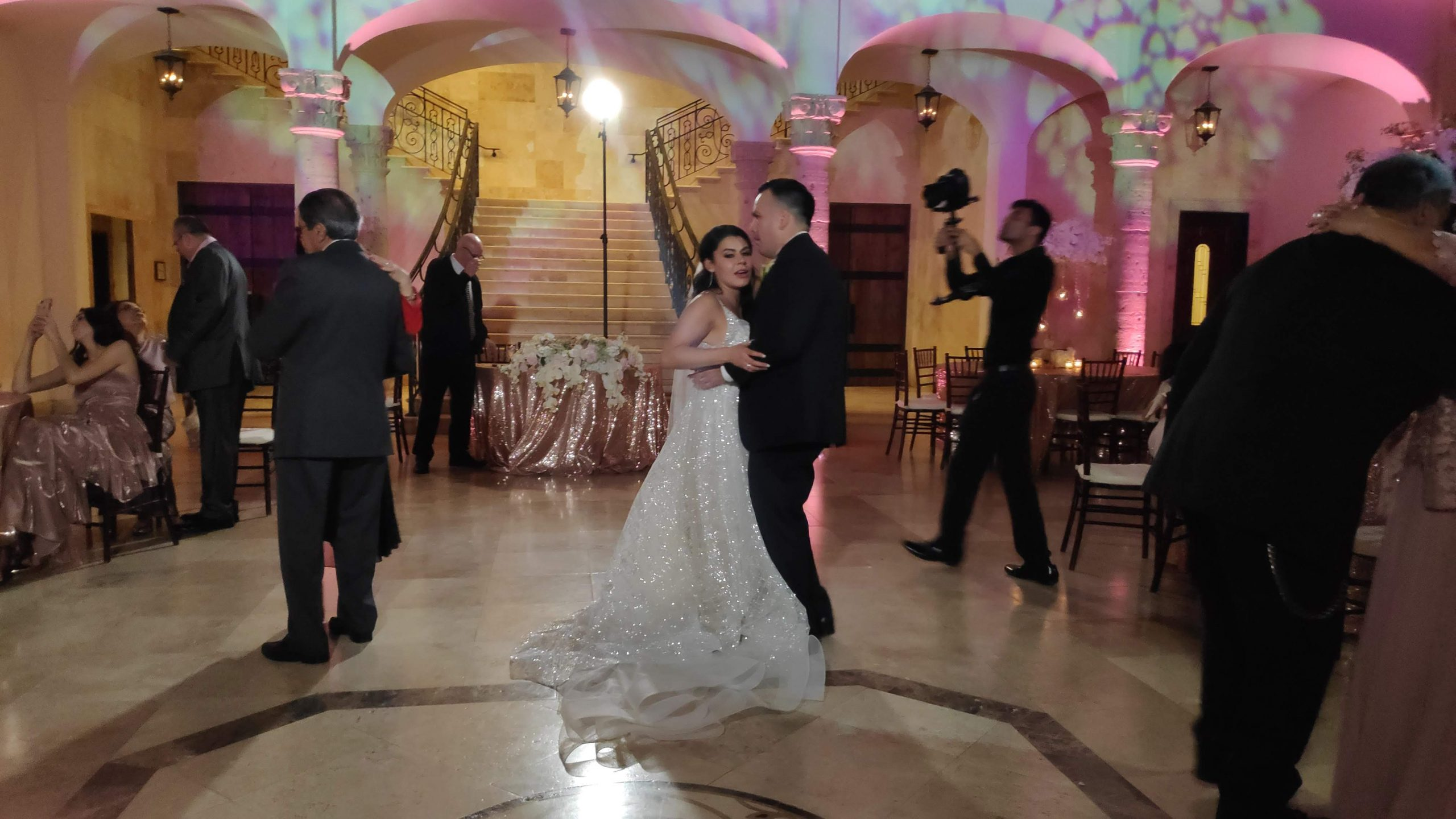 Houston Wedding DJ at the Bell Tower on W34th st