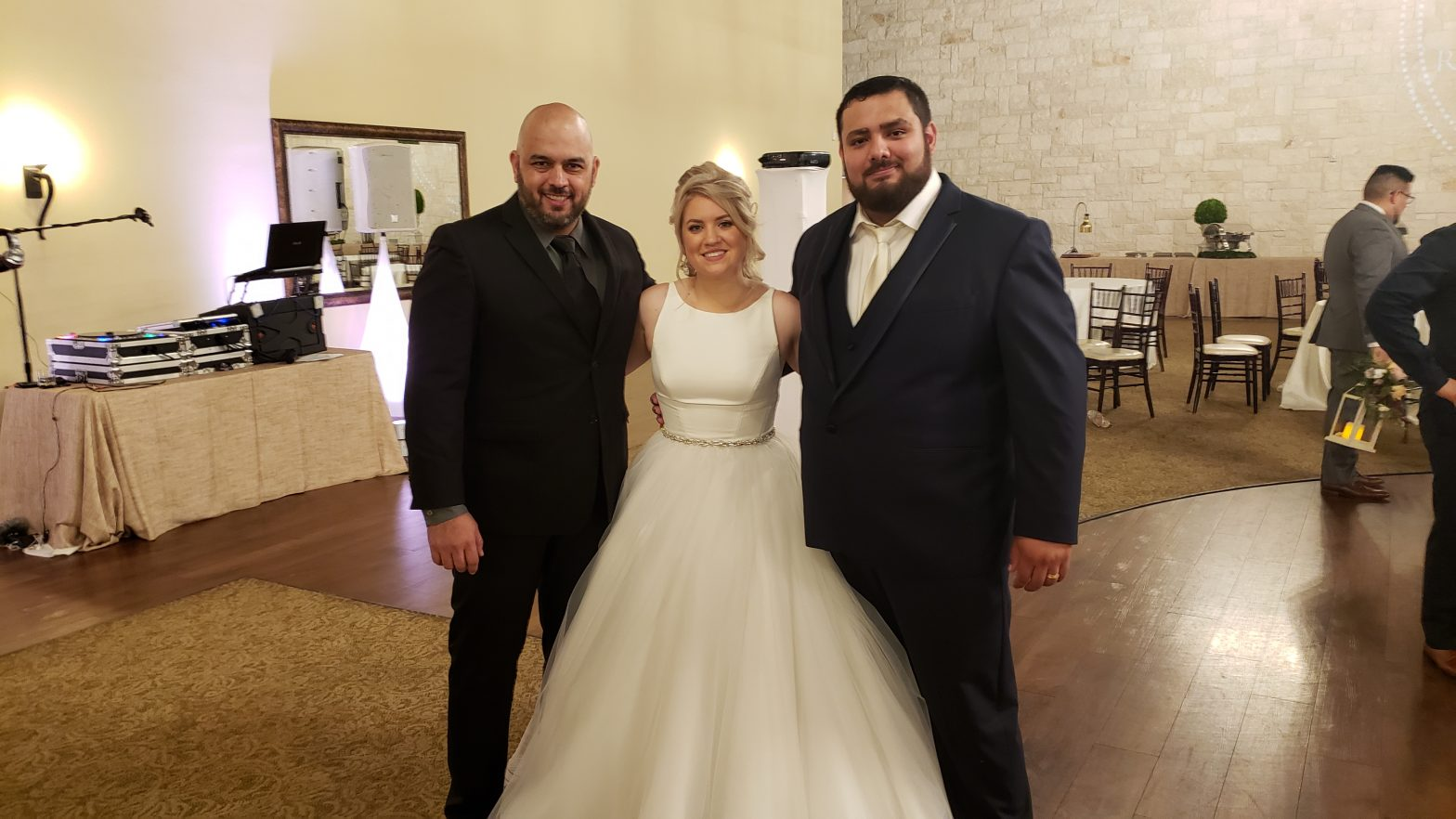 Houston Wedding DJ Francisco Briscoe Manor