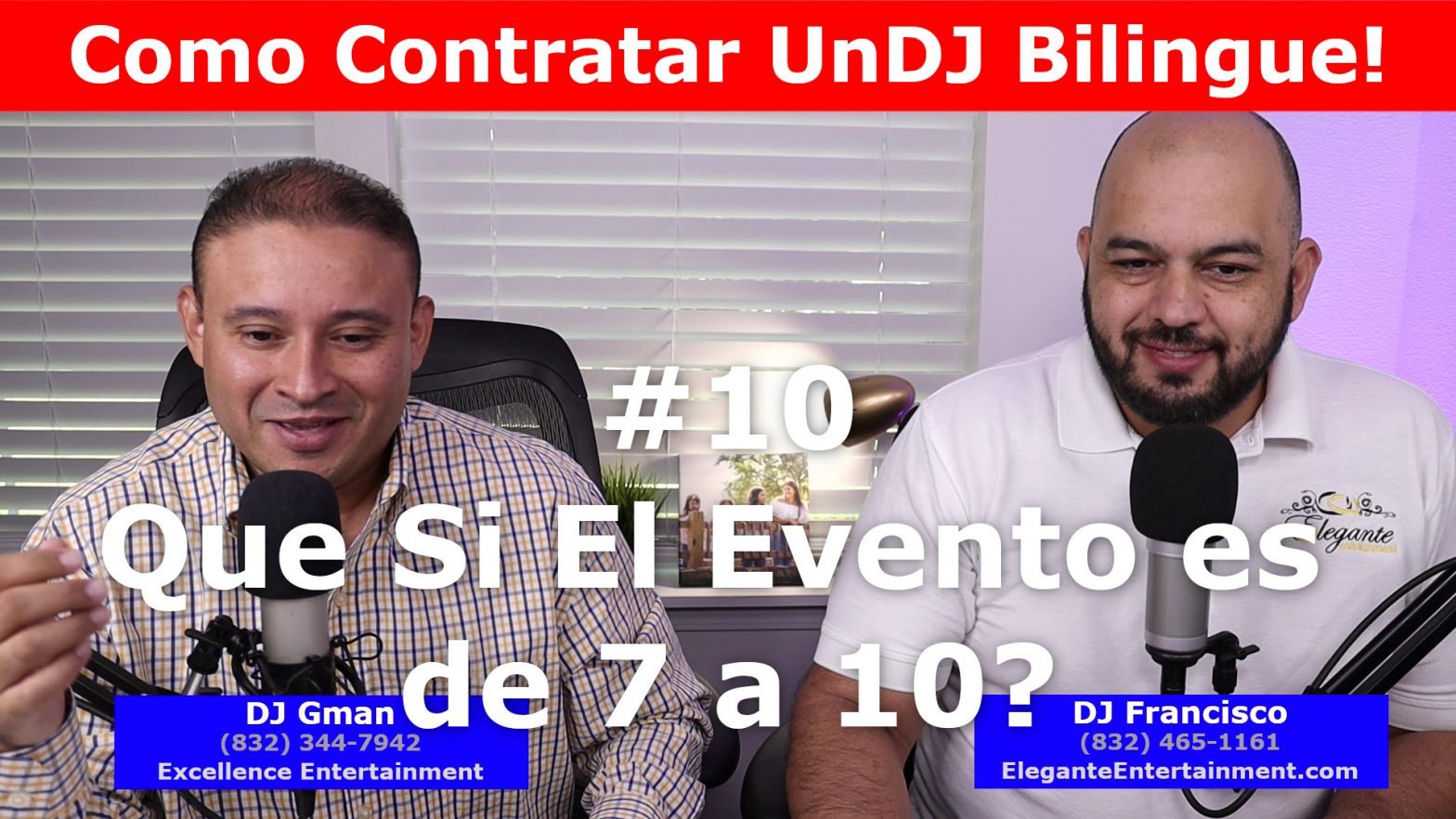 DJ in Houston   #10 Events from 7 to 10
