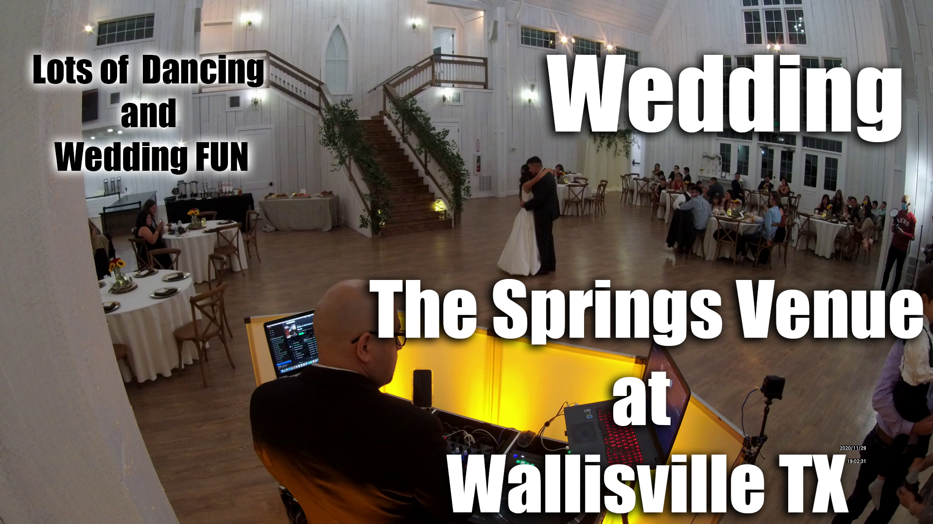 The Springs Venue in Wallisville TX Wedding DJ