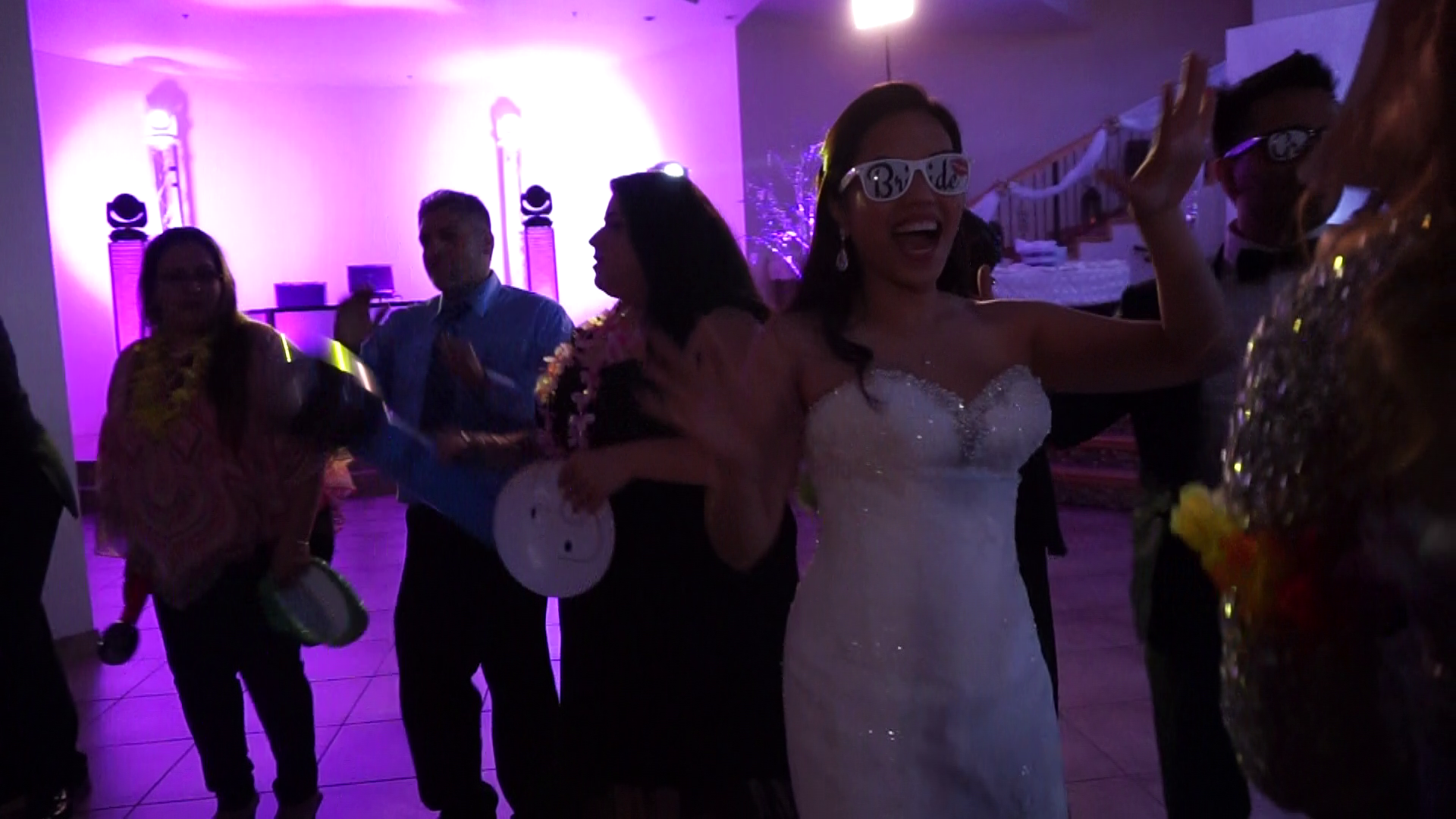 Bride Dancing at her own Wedding